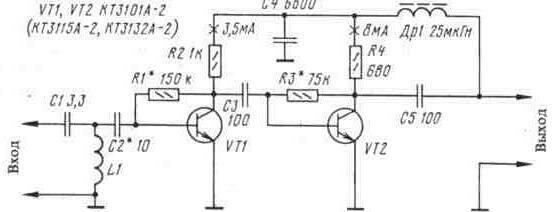 Схемы передающих антенн