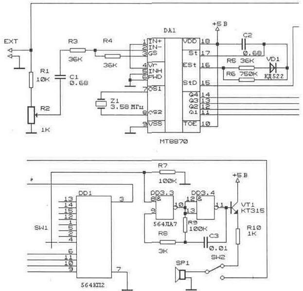 Схемы радиоприемников, радиоприемник fm, am своими руками.