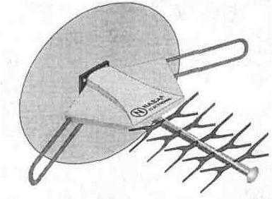 принципиальная схема антенного усилителя
