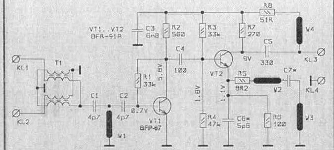 антенные усилители SWA-8