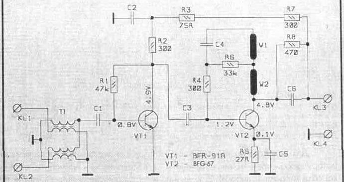 антенные усилители SWA-555