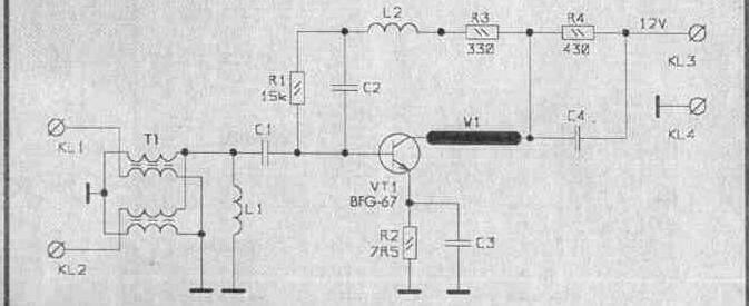 антенные усилители PA-2