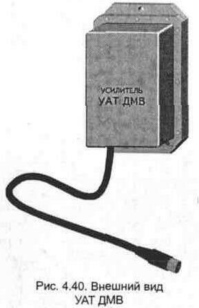 На входе усилителя (рис. 4. 41) установлен полосовой фильтр L1С1L2.  Сигнал с выхода полосового фильтра через емкость...