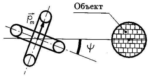 Для расчета такой схемы удобно воспользоваться принципом суперпозиции и разложить вектор магнитного момента...