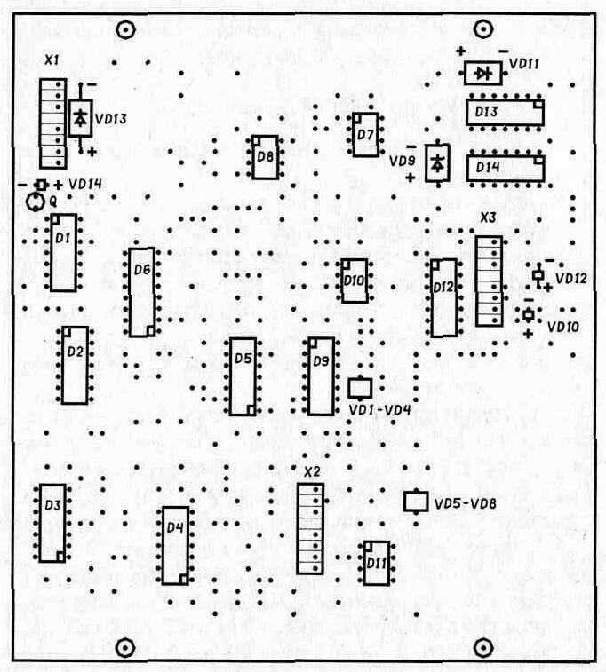 Типы деталей и конструкция металлоискателя индукционного типа.