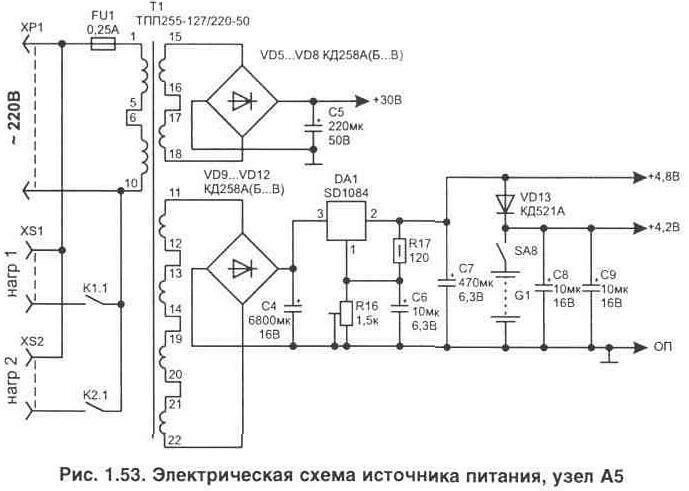 Рис. 1.53 Электрическая