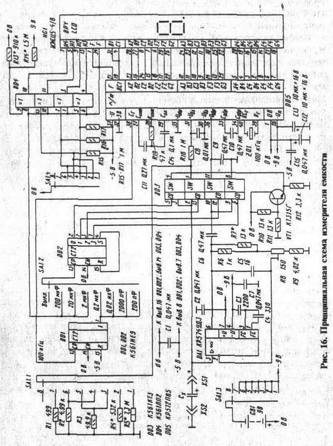 Рис. 16 Принципиальная схема