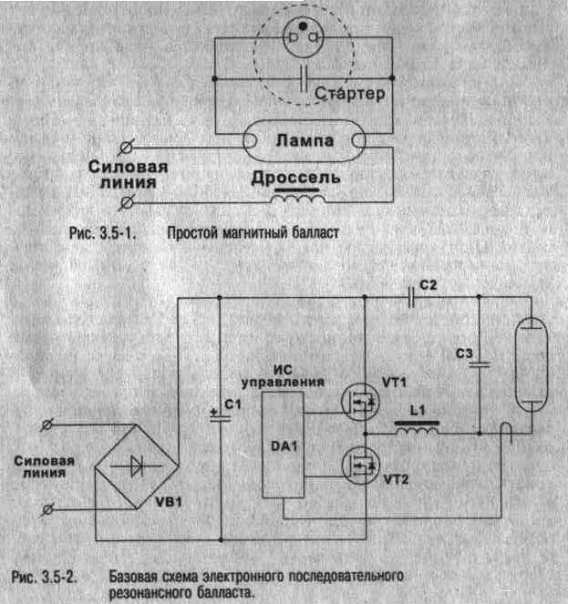схемы электронного