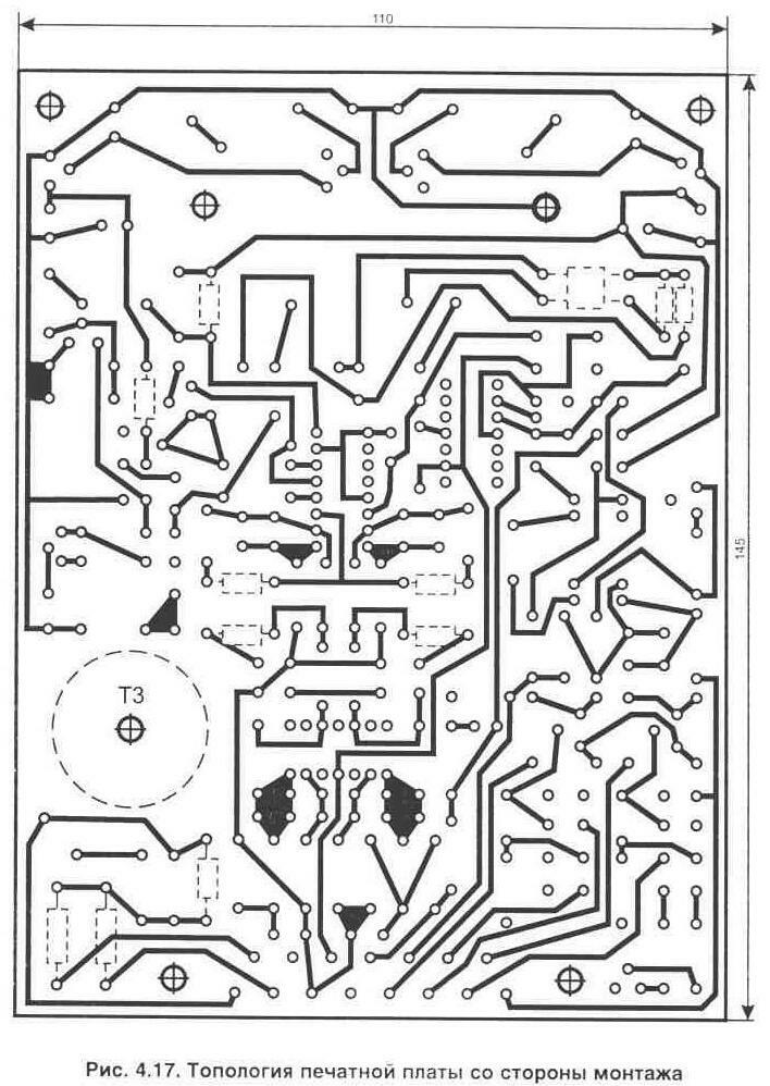 Принципиальная схема генератора электромагнитного импульса.