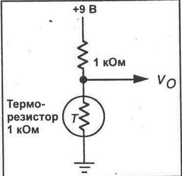 ЭКСПЕРИМЕНТ 9 Терморезисторы.