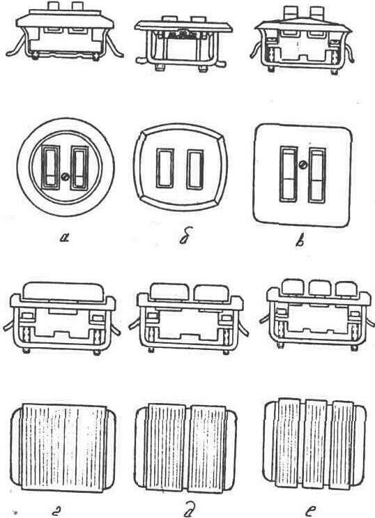 Электрическая схема подключения магнитного пускателя.