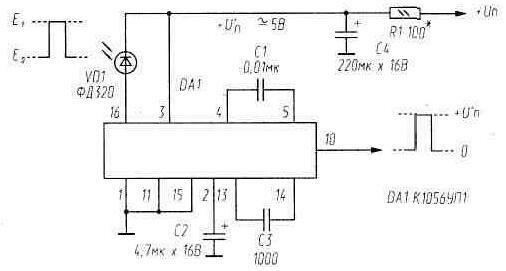 Таблица 8. Фотодиод ФД320 можно заменить на ФД263-01, а если в фотоприемнике есть линза-концентратор...