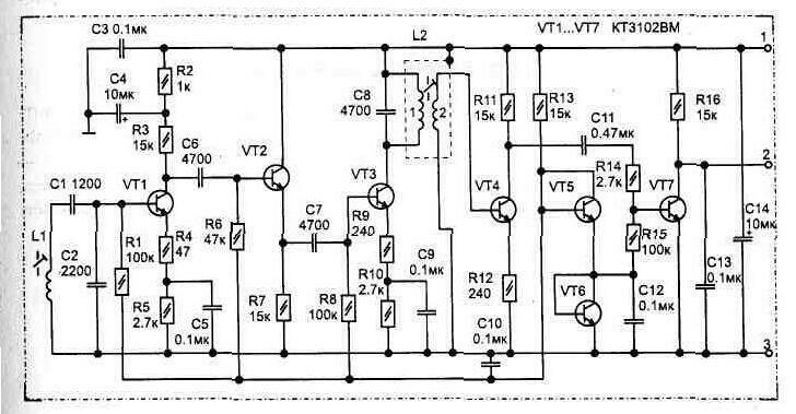 В качестве зарядного устройства может использоваться простейшая схема с бестрансформаторным питанием от сети 220 В...
