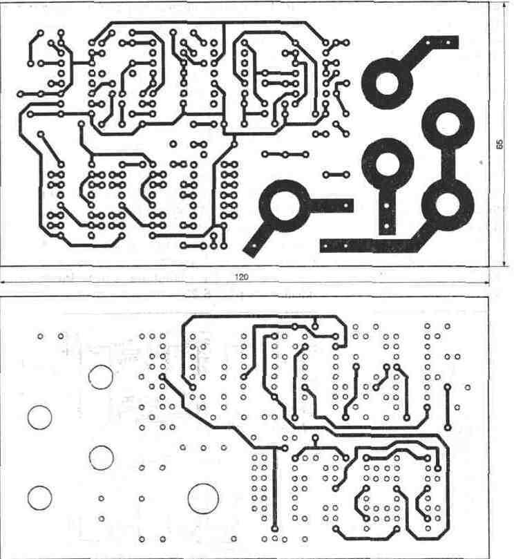 Original.  Рис. 6.21.  Принципиальная электрическая схема кодового замка-звонка.  Вверх.  Thumbnail.