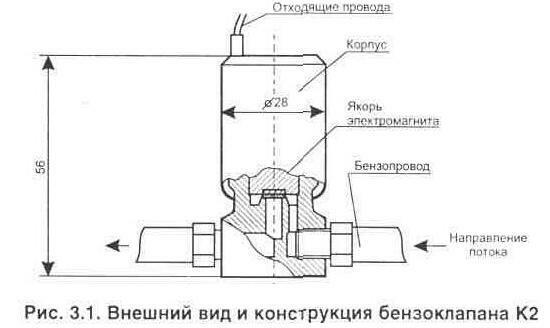 герконовое реле К1,