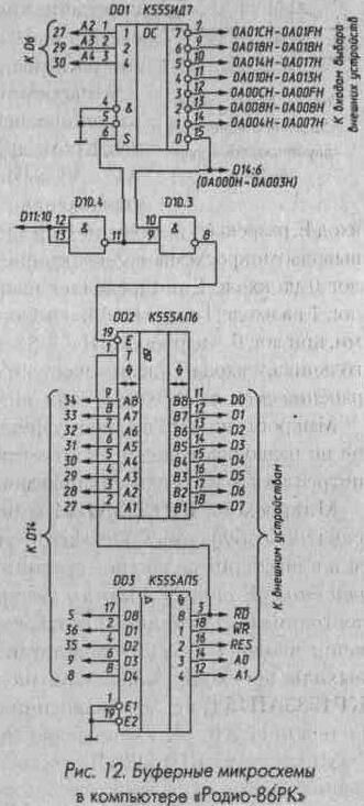Нагрузочная способность микросхемы ИП6 такая же, как у АПЗ.  Микросхема ИП7 отличается от ИП6 только тем...