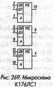 микросхема  ЛС1