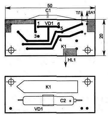 Многофункциональный дверной звонок - электрические схемы, описания, справочная Сайт радиолюбителей - Простой...