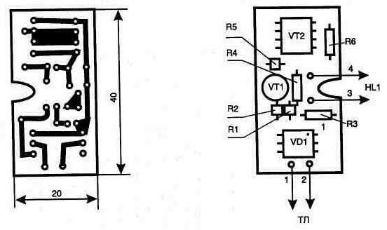 Схема подключается к телефонной линии параллельно с ТА в любом удобном месте, а малые размеры позволяют легко...