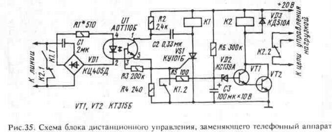 Рис. 35 Принципиальная схема