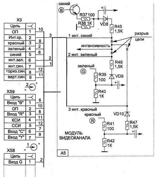 Схема электроснабженья мотоцикла ковровец